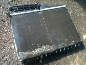 грязный радиатор печи bmw e34