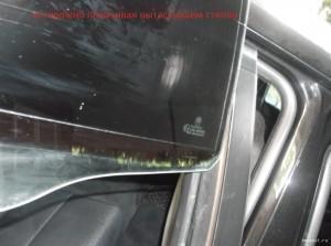 демонтаж бокового стекла bmw