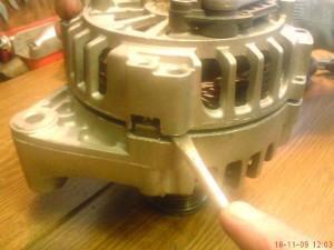 как разобрать генератора bmw 3 и 5 серии