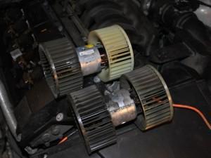 мотор печки e36