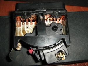 разбор переключателя света bmw e34