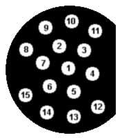 распиновка bmw до 1987 года