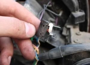 ремонт микрик зеркала bmw e53