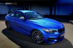 BMW M235i Track Edition синии