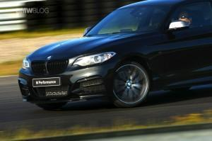 BMW M235i Track Edition спереди купе