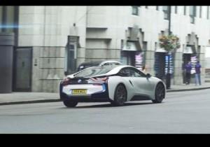 BMW i8 в Лондоне