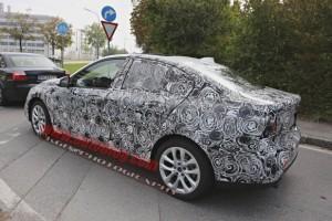 Новый седан BMW 1 серии