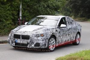 Новый BMW 1 серии шпионские фото