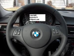 новый руль М на bmw 325i