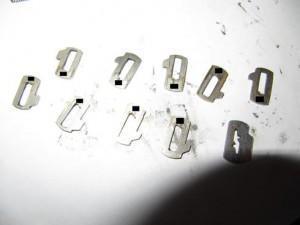 пластины замка зажигания Bmw e39