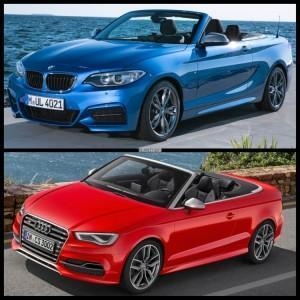 BMW M235i кабриолета и Audi S3 Cabrio сравнение