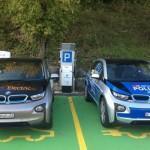 В Европе появился первый BMW i3 – полицейская машина