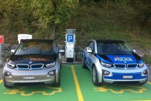 BMW i3 полицейская машина