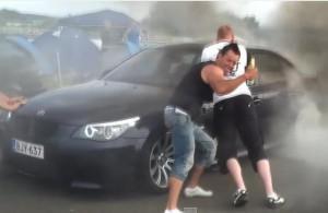 неудачи водителей BMW