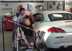 вмятины на BMW Z4
