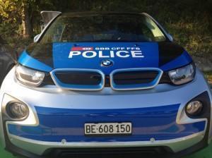 bmw i3 полиция