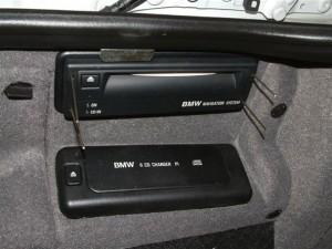 блок навигации BMW E39