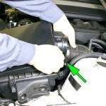 Замена расширительного бачка системы охлаждения на BMW e46