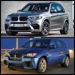 Фото сравнения F85 BMW X5 и E70 X5 M