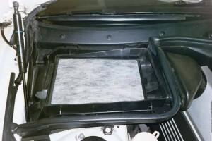 чистый фильтр салона BMW 540iA
