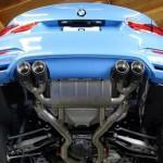 BMW M4 получил выхлоп от Akrapovic