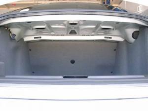 пустой багажник e39