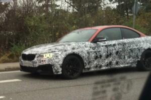 сбоку BMW M2 F87