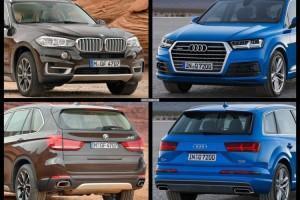 сравнение Audi Q7 и BMW X5