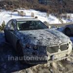 Новая BMW 7 серии 2016 года опять попала в объектив фото камер