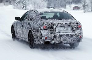 камуфляж BMW 5 серии 2017