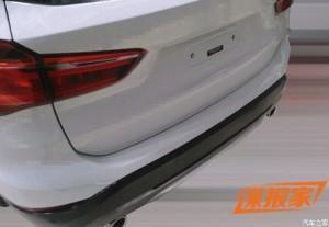 BMW X1(F48) 2016 сзади