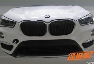 BMW X1(F48) 2016 спереди
