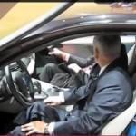 Видео: как открывается дверь на BMW i8 – презентация