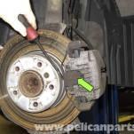 Замена колодок на BMW E60(полная фото инструкция)