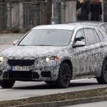 Новый BMW X1 SAV тестируется в Мюнхене