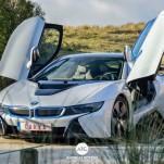 Красивые фотографии BMW i8 из Бельгии