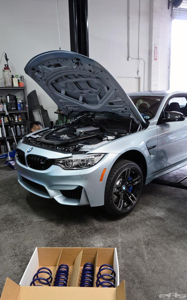 работа F82 BMW