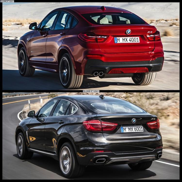 BMW X4 и BMW X6 новые
