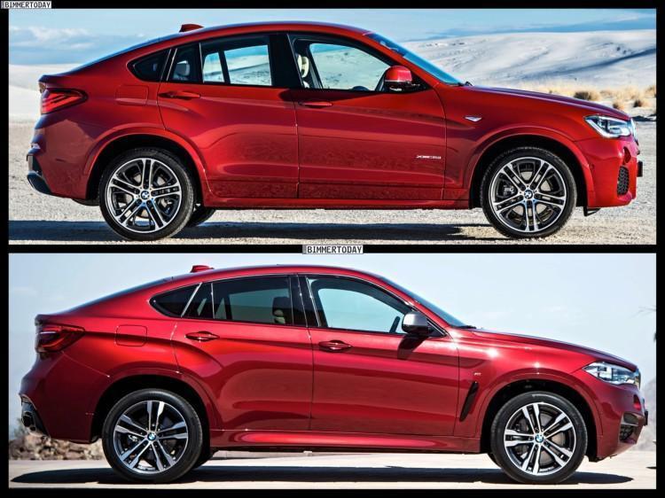 BMW X4 и BMW X6 2015 года