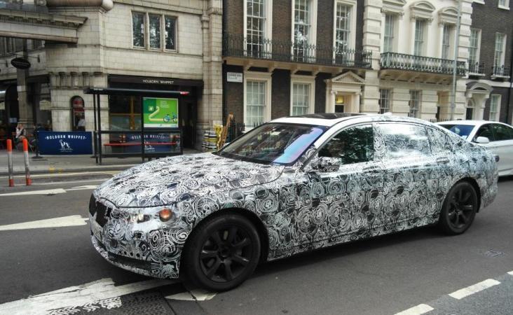 Новые фотографии BMW 7 2016 года