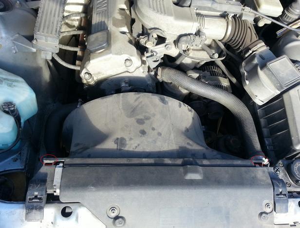 Инструкция по замене термостата на BMW e36 318i M43