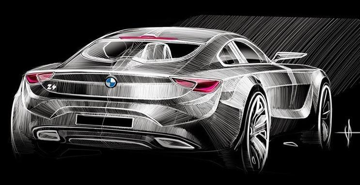 рисунок BMW Z5
