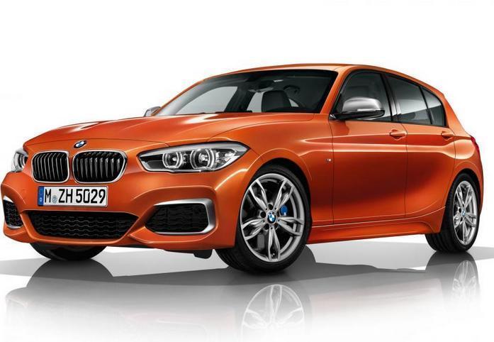 Дебют BMW 1 серии M135i на автосалоне в Женеве