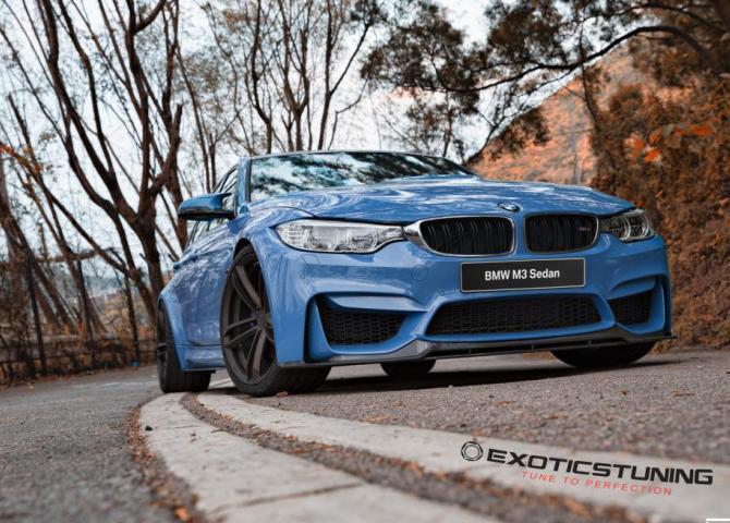 улучшенный BMW F80 M3