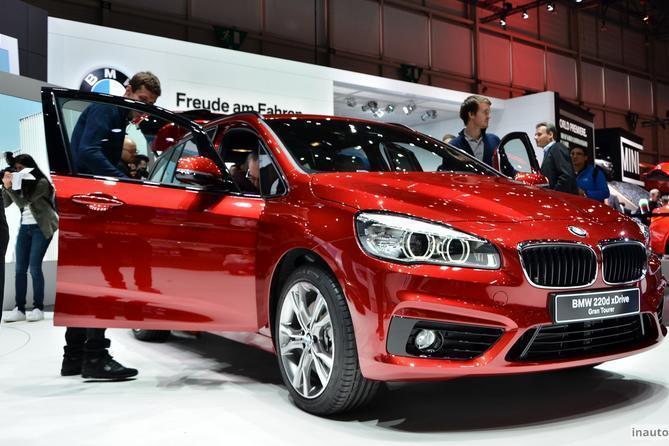новая BMW 2-серии Gran Tourer
