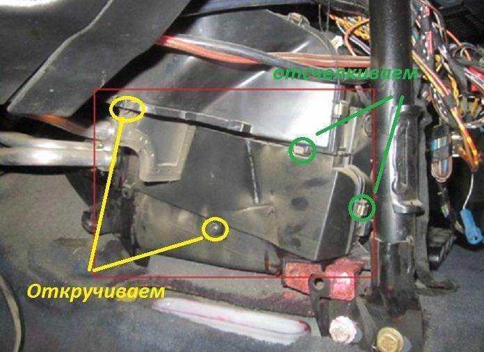 инструкция по ремонту bmw 1 e87 радиатор печки