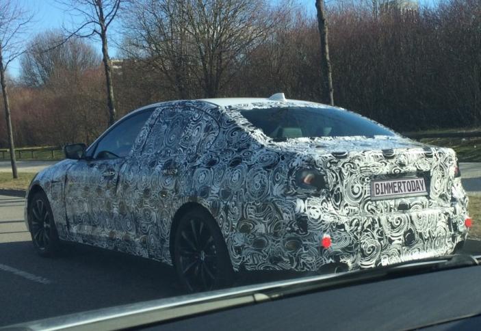 будущий BMW 5 серии гибрид