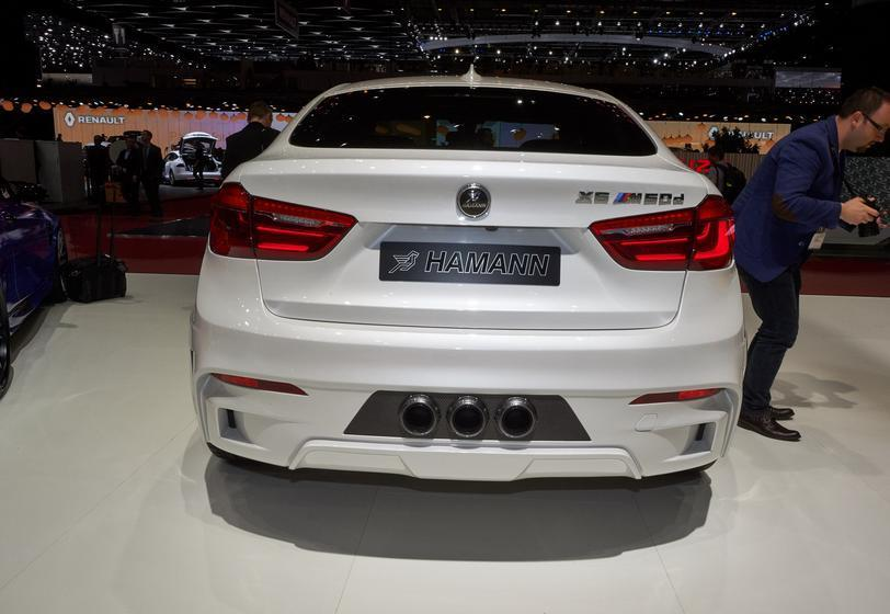 BMW X6 с тюнингом от Hamann 2015