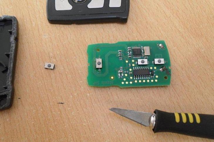 кнопка ключа E65