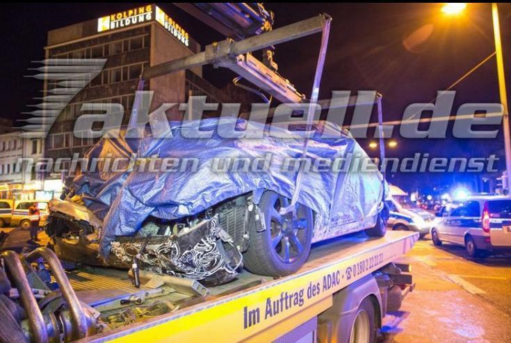 авария BMW 7-й серии новая